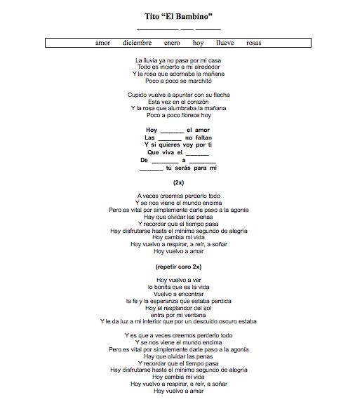 letra de la cancion secretos de tito el bambino: