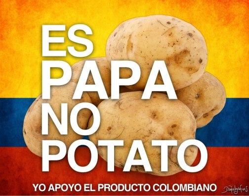 Es papa no potato